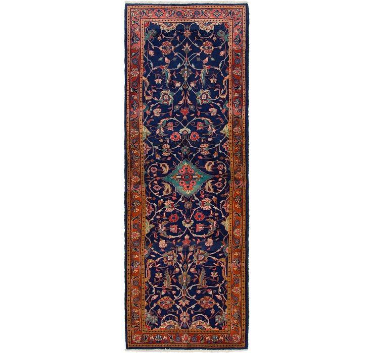 3' 5 x 10' 4 Mahal Persian Runner Rug