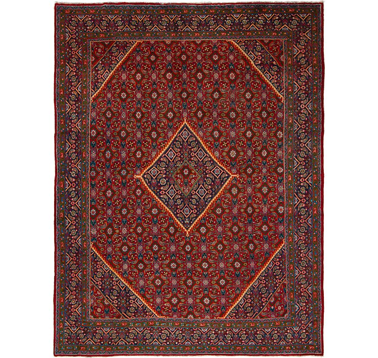 HandKnotted 9' 7 x 12' 7 Mahal Persian Rug