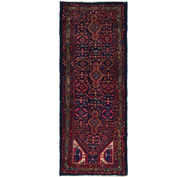 3' 2 x 8' 2 Mazlaghan Persian Runne...