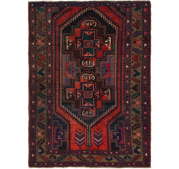4' 2 x 5' 7 Saveh Persian Rug