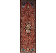 Link to 3' 7 x 12' Hamedan Persian Runner Rug