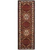 Link to 100cm x 325cm Meshkin Persian Runner Rug