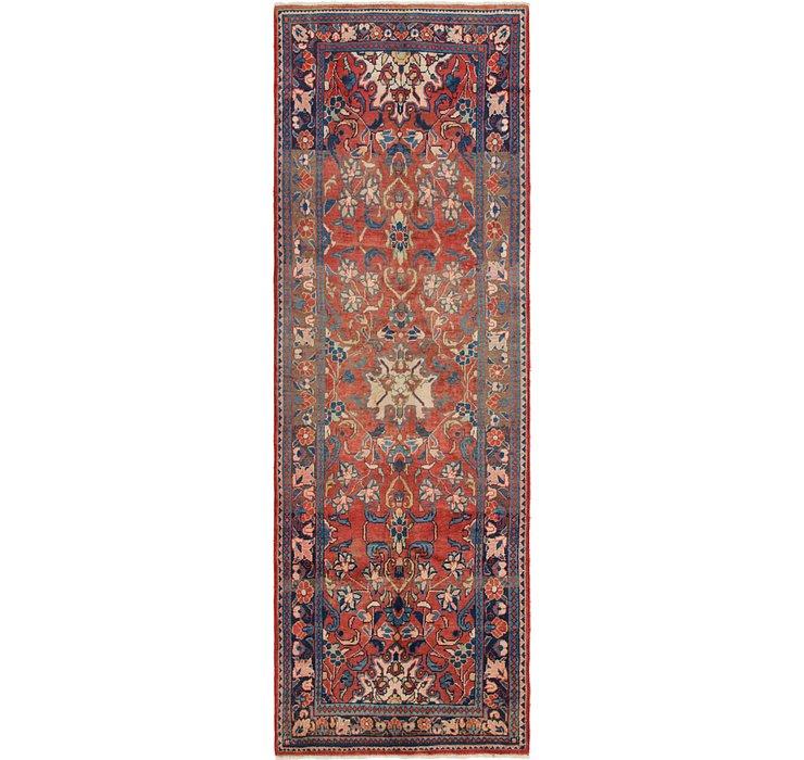3' 5 x 10' 9 Mahal Persian Runner Rug