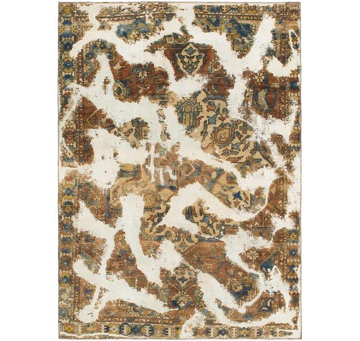 6' 6 x 9' Ultra Vintage Persian Rug
