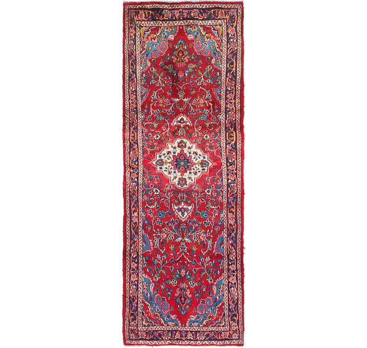 HandKnotted 3' 3 x 9' 4 Mahal Persian Runner Rug
