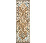 Link to 3' 7 x 11' 2 Mahal Persian Runner Rug