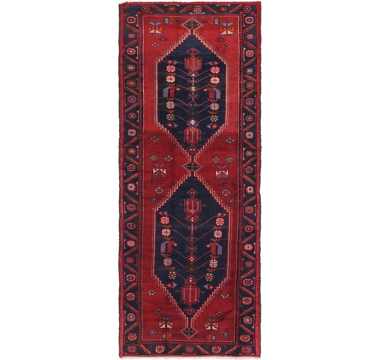 4' x 10' Zanjan Persian Runner Rug