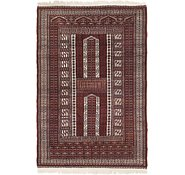 Link to 4' 2 x 6' 3 Bokhara Oriental Rug