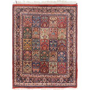 Link to 4' 10 x 6' 4 Sarough Oriental Rug item page