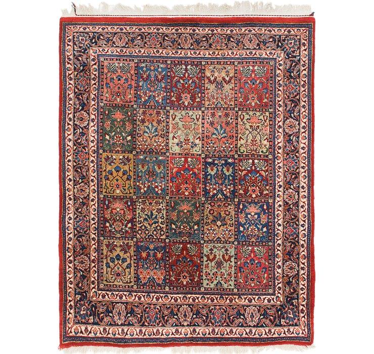 147cm x 193cm Sarough Oriental Rug