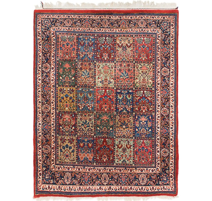 4' 10 x 6' 4 Sarough Oriental Rug