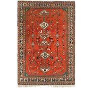 Link to 4' 5 x 6' 9 Maymeh Persian Rug