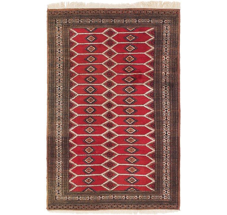 4' 2 x 6' 4 Bokhara Oriental Rug