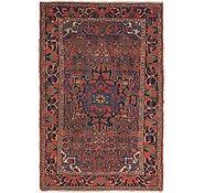 Link to 4' 4 x 6' 8 Hamedan Persian Rug