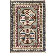 Link to 4' x 5' 10 Kars Oriental Rug