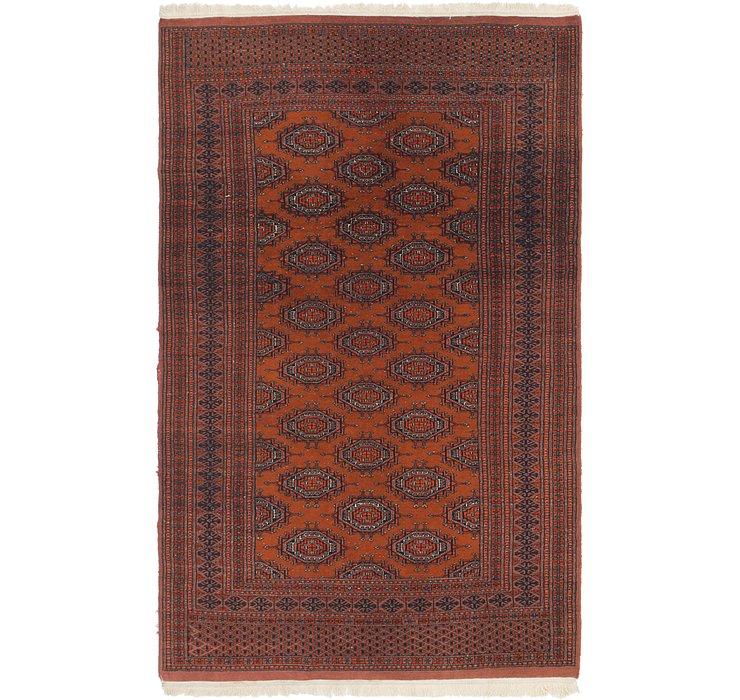 122cm x 198cm Bokhara Oriental Rug