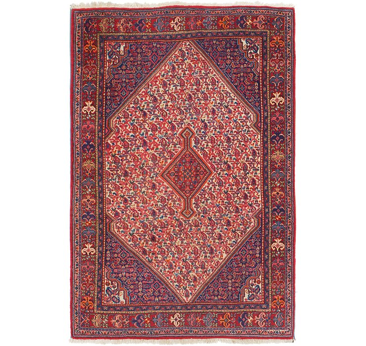110cm x 163cm Bidjar Persian Rug