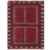 Link to 4' 6 x 5' 8 Balouch Persian Runner Rug