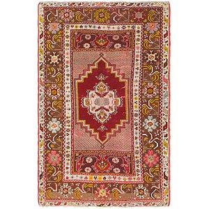 HandKnotted 3' 5 x 5' 4 Kars Oriental Rug