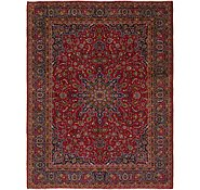 Link to 9' 9 x 13' 8 Mashad Persian Rug
