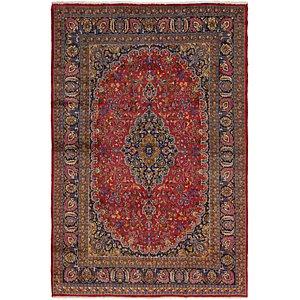 8' x 11' 10 Mashad Persian Rug