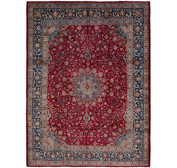 HandKnotted 9' 10 x 13' 2 Isfahan Persian Rug