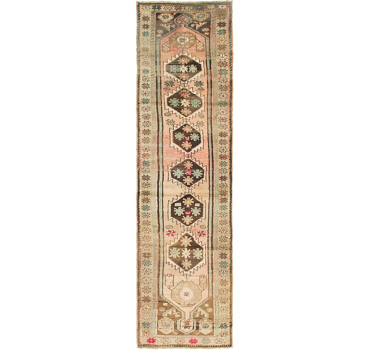2' 7 x 10' Hamedan Persian Runner ...