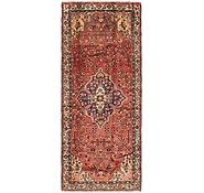 Link to Unique Loom 3' 9 x 9' 3 Hamedan Persian Runner Rug
