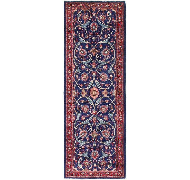 3' 9 x 11' Mahal Persian Runner Rug