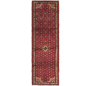 Link to 2' 7 x 8' 6 Hossainabad Persian Runner Rug