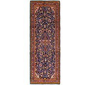 Link to 3' 5 x 10' Mahal Persian Runner Rug