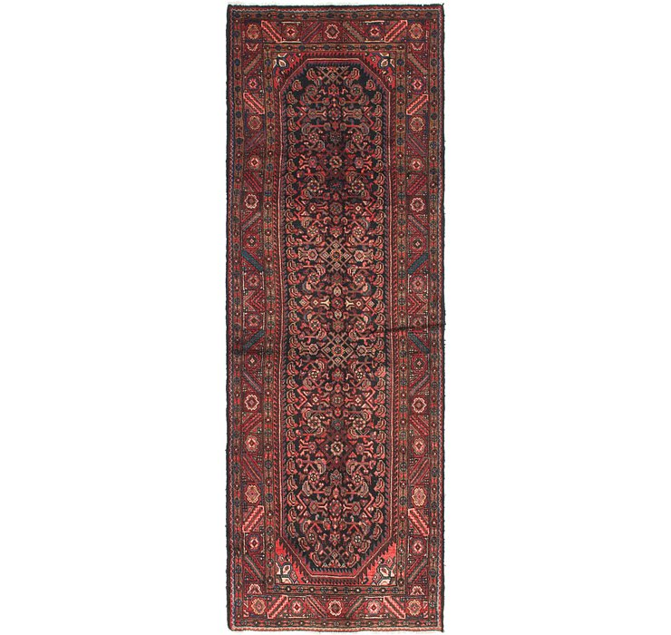 HandKnotted 3' 5 x 10' 4 Malayer Persian Runner ...