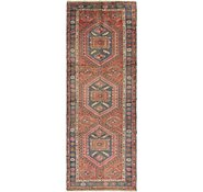 Link to 3' 5 x 9' 5 Hamedan Persian Runner Rug