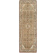 Link to 3' 8 x 11' 3 Hossainabad Persian Runner Rug