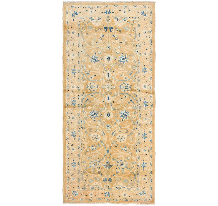 HandKnotted 3' 6 x 7' 10 Mahal Persian Runner Rug
