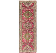 Link to 3' 3 x 10' 4 Tabriz Persian Runner Rug
