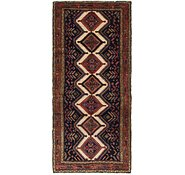 Link to 3' 9 x 8' 6 Chenar Persian Runner Rug