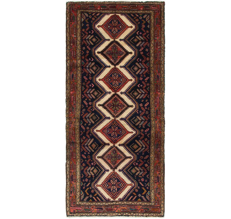 3' 9 x 8' 6 Chenar Persian Runner Rug