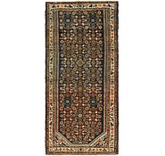 Link to 3' 10 x 8' 2 Hossainabad Persian Runner Rug