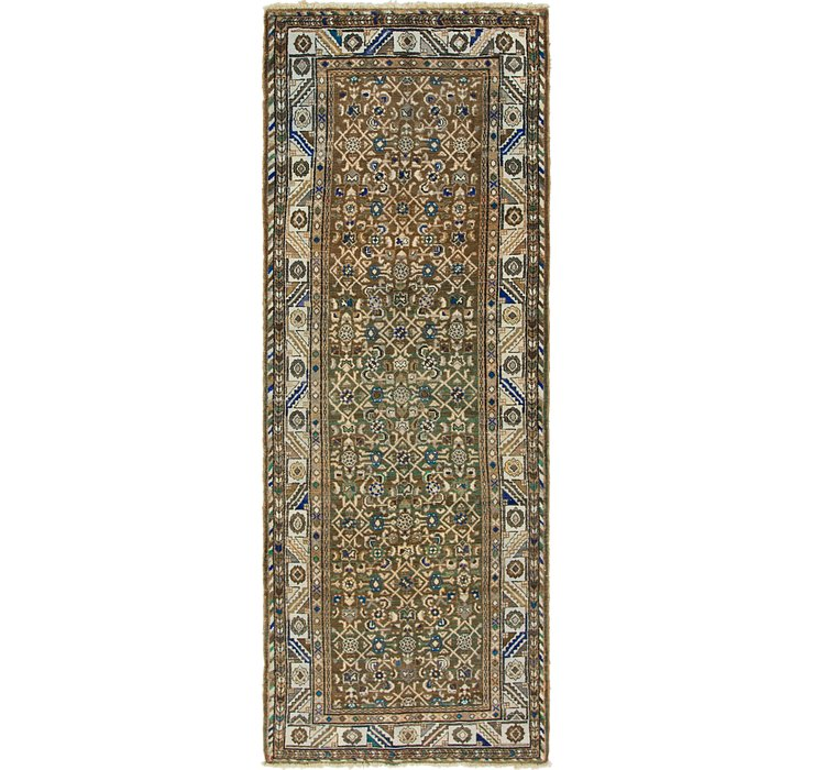 107cm x 300cm Malayer Persian Runner ...