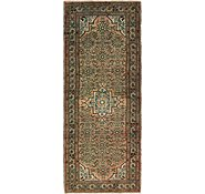 Link to 4' 1 x 10' 8 Hossainabad Persian Runner Rug