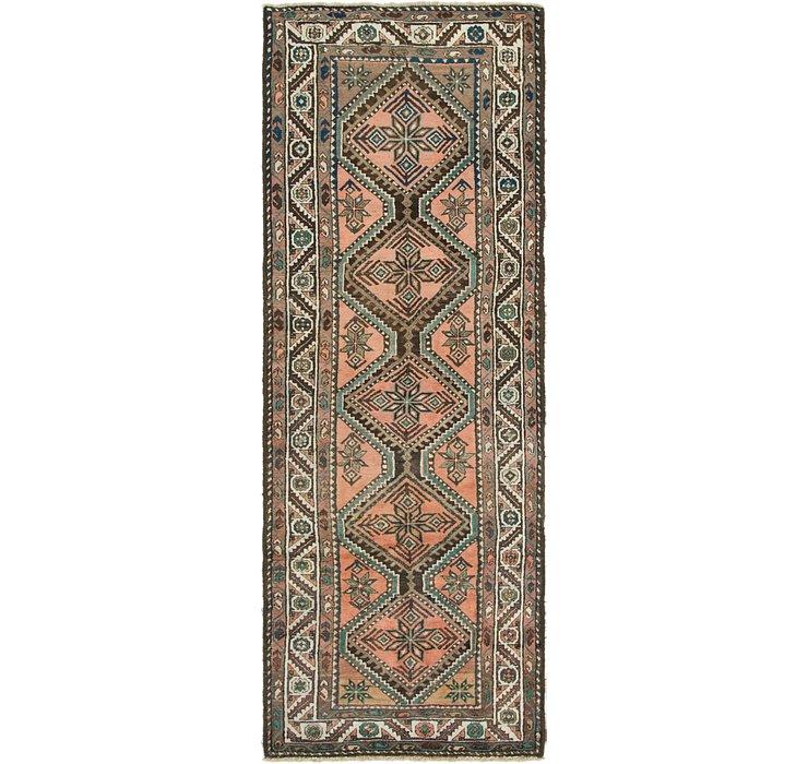 112cm x 315cm Chenar Persian Runner Rug