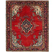 Link to 5' 3 x 6' 5 Hamedan Persian Square Rug