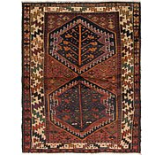 Link to 5' 3 x 6' 5 Shiraz-Lori Persian Square Rug