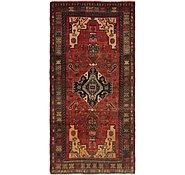 Link to 4' 9 x 9' 8 Hamedan Persian Runner Rug