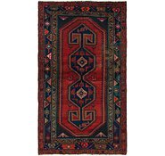 Link to 4' 5 x 7' 5 Hamedan Persian Rug