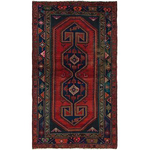 Link to 135cm x 225cm Hamedan Persian Rug item page