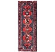 Link to 107cm x 300cm Hamedan Persian Runner Rug
