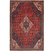 Link to 6' x 9' Hossainabad Persian Rug