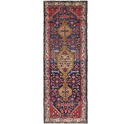Link to 3' 6 x 9' 9 Mazlaghan Persian Runner Rug